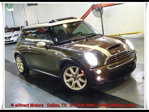 2004 Mini Cooper S John Works Edirect Motors