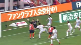2017年5月14日(日)に行われた明治安田生命J1リーグ 第11節 大宮vs仙...