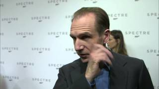"Spectre: Ralph Fiennes ""M"" Interview on the new James Bond Movie"