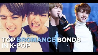 Top Bromance Bonds in K-pop