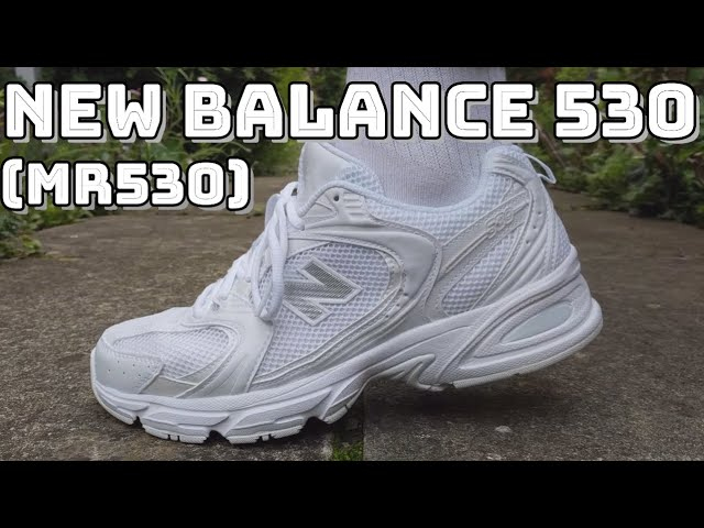 NEW BALANCE 530 REVIEW - On feet, comfort, weight, breathability ...