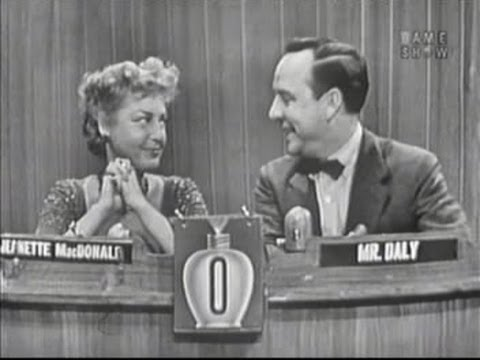 What's My Line?  Jeanette MacDonald Dec 21, 1952
