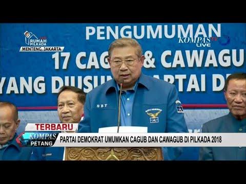 Yasin Limpo  Muzakkar Jadi Jagoan Demokrat di Pilgub Sulsel