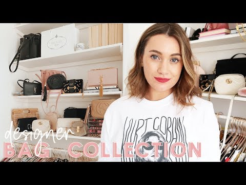 My Updated Designer Bag Collection - Prada, Gucci & More // KATE LA VIE