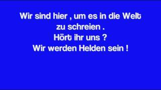 Fard - Endlich Helden - Lyrics | Invictus