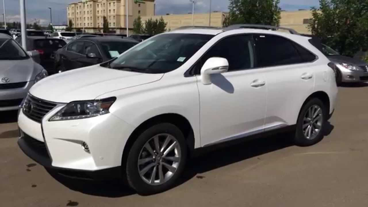 2017 Lexus Rx 350 Awd Touring Package Review White Starfire Pearl On Black In Edmonton Ab You