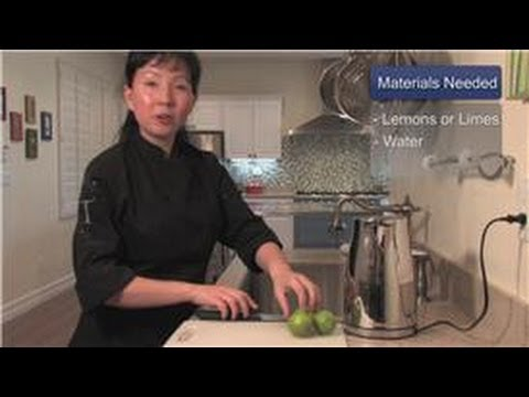 Cookware : How to Clean an Electric Water Kettle - YouTube
