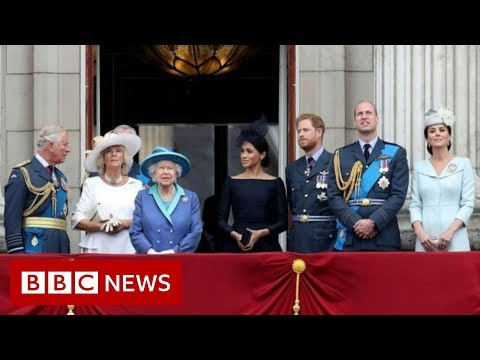 Harry and Meghan: Royals gather for talks over Sussexes' future - BBC News