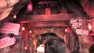NEW Big Thunder Mountain Railroad effects POV at Disneyland (2014)