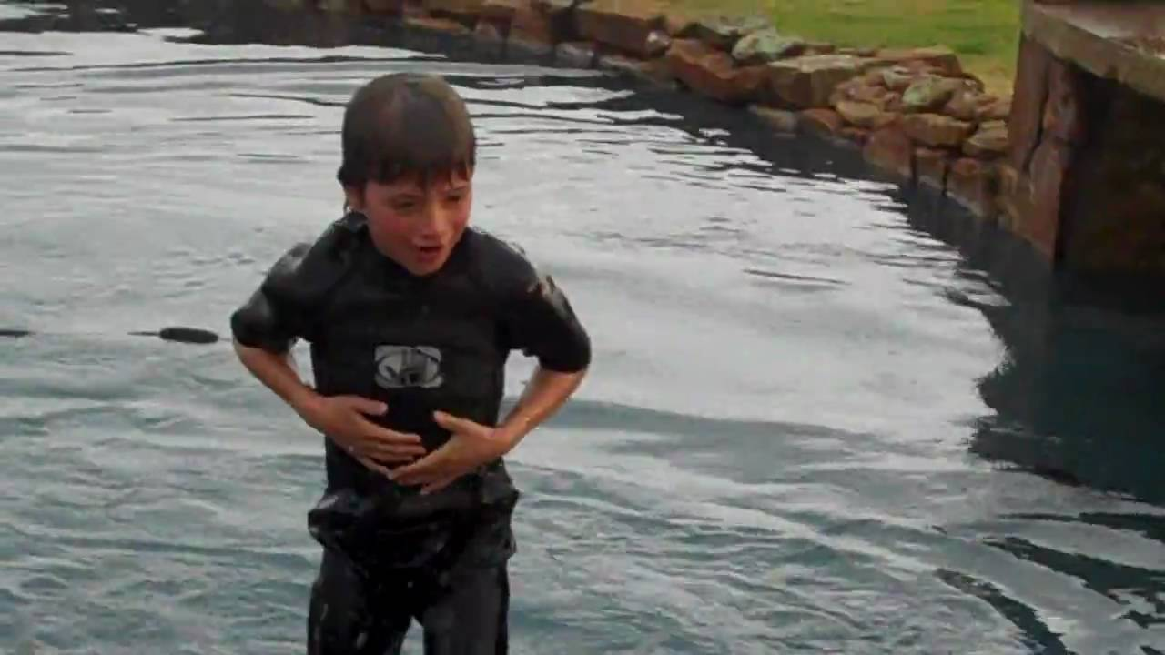 Wet Suit Testing For Kids Youtube
