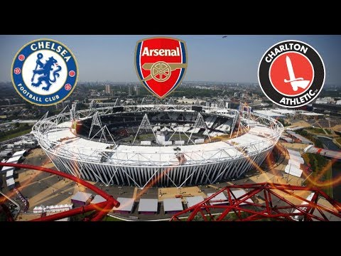 10 Biggest Football Stadiums In LONDON!