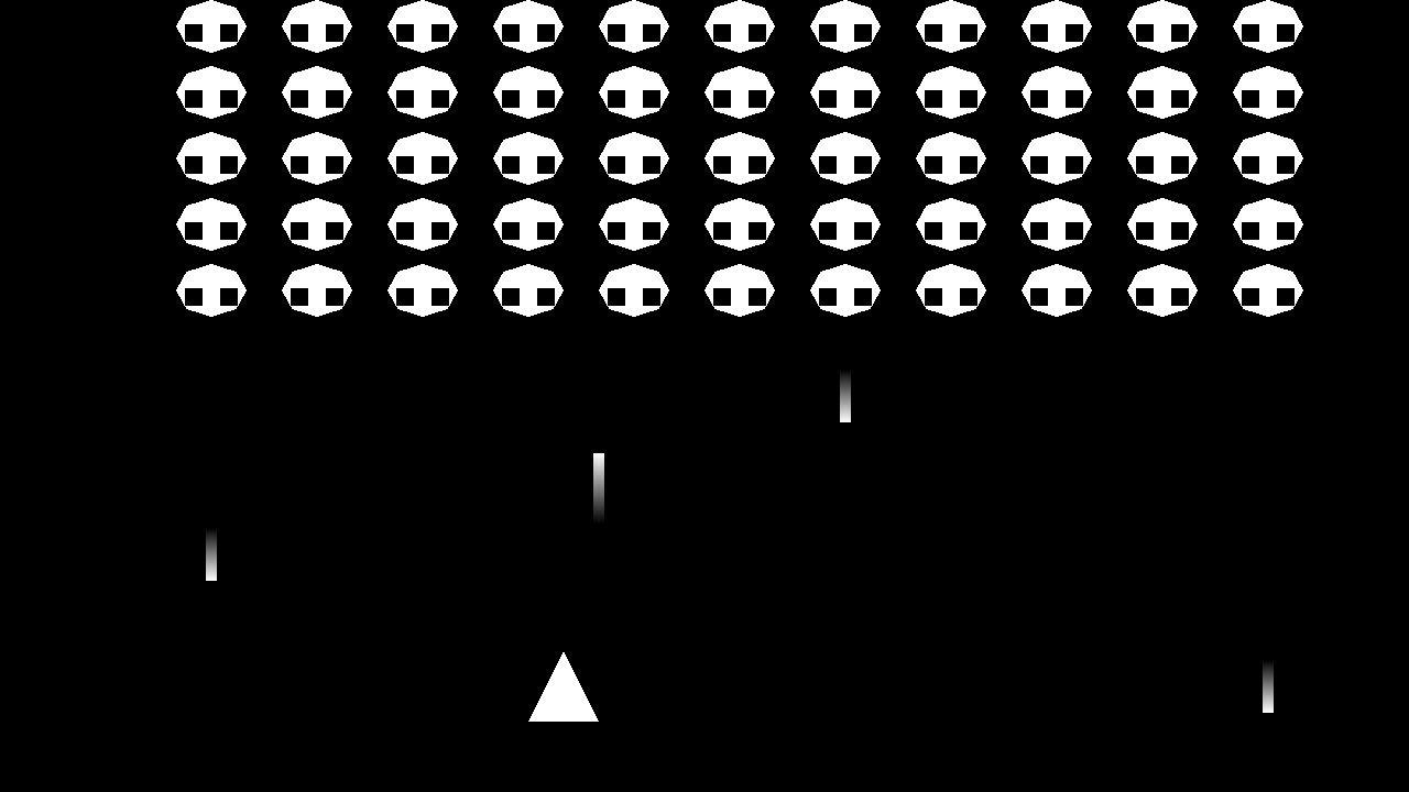 スペースインベーダーを小一時間で作ってみた【OpenGLゲームプログラミング実況】Programming Space Invaders