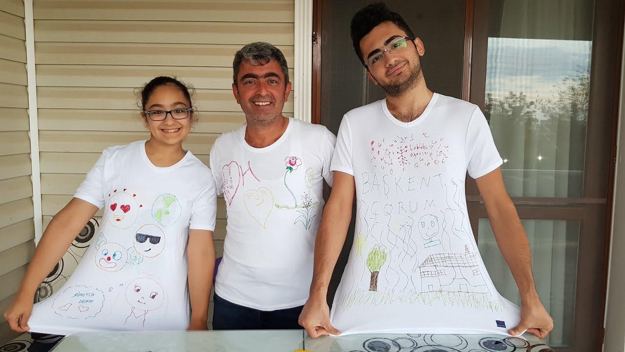 Tişört Boyama Challenge 3 Color Tie Dye Shirt Challenge Youtube