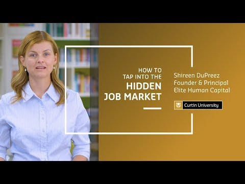 How to Tap Into the Hidden Job Market | Shireen DuPreez