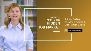 How to Tap Into the Hidden Job Market | Shireen DuPreez