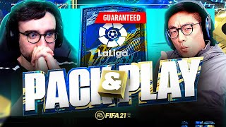 GUARANTEED LA LIGA TEAM OF THE SEASON!!! Fifa 21 Pack And Play