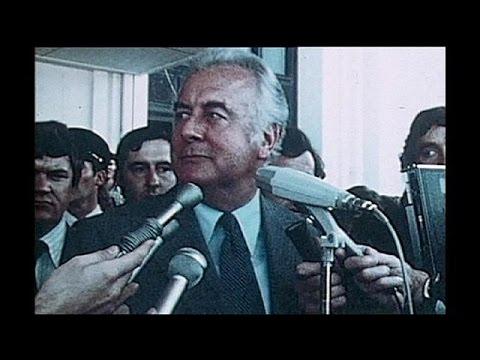 Australia's Ex-premier Gough Whitlam Dies 98