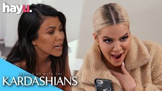 Kim Accuses Kourtney Of Copying Her Style | Season 17 | Keeping Up With The Kardashians