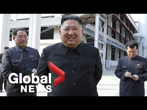 Kim Jong Un makes first public appearance in weeks: North Korea state media