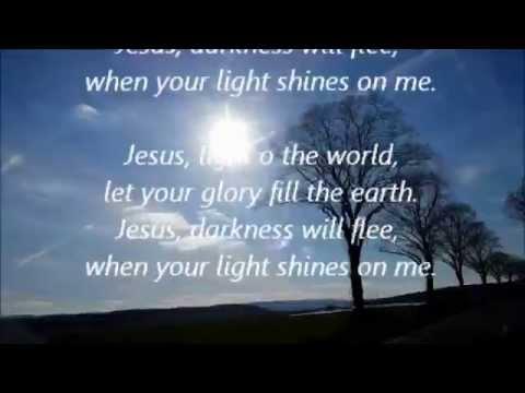 Jesus light of the world - Lyrics