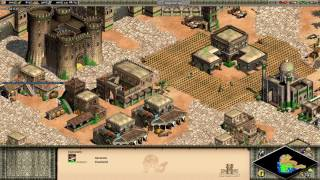 Age Of Empires 2 HD Saladin Campaign 6. The Lion and the Demon, No build Wonder play (reupload)