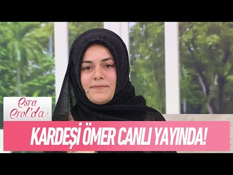 Sesini bile duymadığı kardeşi Ömer canlı yayında! - Esra Erol'da 19 Ekim 2017