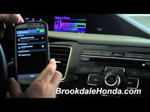 2013 | Honda | Civic | Bluetooth Connection On An Android Phone | How To By Luther Brookdale Honda