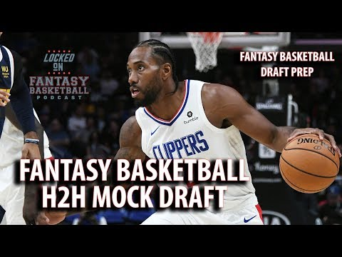Fantasy Basketball H2H Mock Draft | Watch Along With A 12 Team Mock