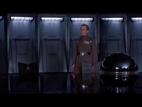 Grand Moff Tarkin Talks To Lord Vader - Star Wars: Episode IV