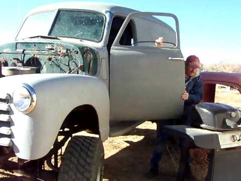 1949 chevy panel truck