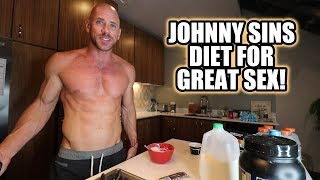Johnny Sins Diet for Great Sex ! Vlog #8 || SinsTV