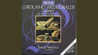 Il primo libro di 12 capricci fatti sopra diversi soggetti et arie in partitura: Capriccio X...