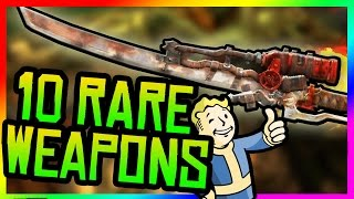 Fallout 4 Rare Weapons - Top 10 Powerful & Rare Weapons! (Fallout 4 Secret & Rare Weapon Locations)