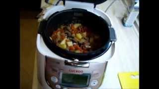 Готовим *Чанахи* в Cuckoo 1055(Приготовление вкусного и простого блюда в мультиварке Cuckoo 1055., 2013-04-27T21:18:10.000Z)