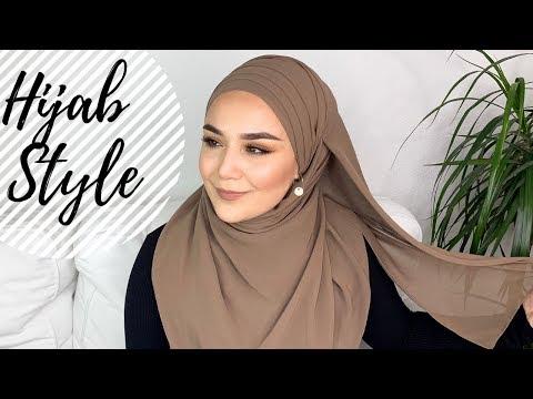 Occasional Hijab Style I Sal bag lama modeli