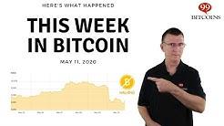 This week in Bitcoin - May 11th, 2020