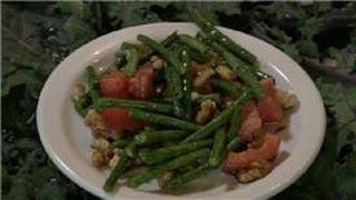 Bean Salads : Green Bean & Walnut Salad