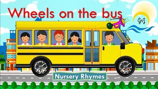#Nurseryrhymes#Wheels on the bus|gnjstories|Kids Song|Phonics Song |AlphabetSong|  #wheelsonthebus |
