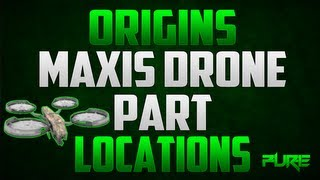 "Black Ops 2 Zombies: ""Origins Tips & Tricks"" Maxis Drone Part locations"
