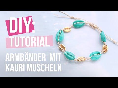 Schmuck machen: Wie macht man Schmuck mit Kauri Muscheln? ♡ DIY