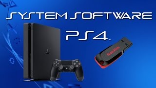 Prepare a USB Thumb Drive to Update PS4 System Software