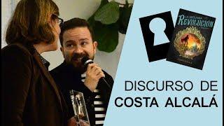 Discurso de Costa Alcalá por el Templi2018 a mejor novela perteneciente a saga