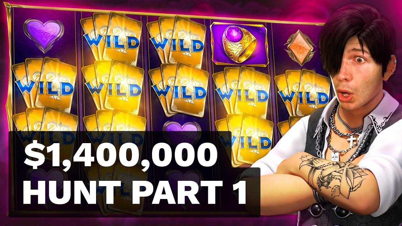 $1400000 BONUS HUNT OPENING - Part 1 🎰 172 Slot Bonuses - Hotel Yeti Way, Street Magic & Tiki Tumble