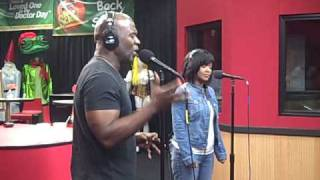 an in studio jam with bebe and cece winans from the red velvet cake studio