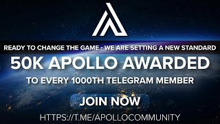 APOLLO FOUNATION EXCHANGE BREAKING NEWS!!$$$$