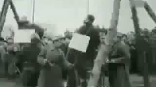 Казнь Бандеровцев. Киев 1945г