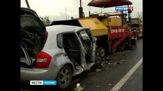 18 тонн смерти: гости свадьбы влетели в каток под Москвой