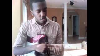 """Gospel R&B Chords Guitar Lesson Free  """"Xeryus Gittens"""" @XeryusG"""