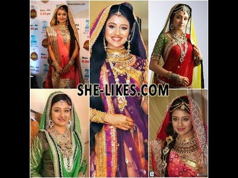 Jodha Akbar Paridhi Sharma Designer Dresses - YouTube