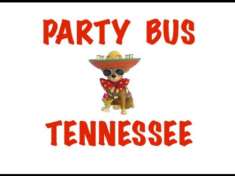 Party Bus Rental in Tennessee - Memphis, Nashville, Knoxville, Chattanooga, Clarksville
